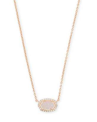 Kendra Scott Chelsea Pendant Necklace in Iridescent Drusy