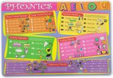 PAINLESS LEARNING PLACEMATS-Phonics-Placemat