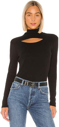 Chaser Vented Shirttail Turtleneck Tee