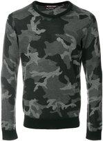 Michael Kors camouflage pattern jumper
