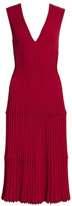 Altuzarra V-Neck Knit Dress