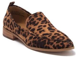Susina Kellen Leopard Print Loafer - Wide Width Available