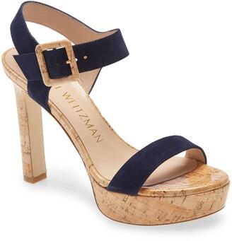 Stuart Weitzman Alesha Platform Sandal