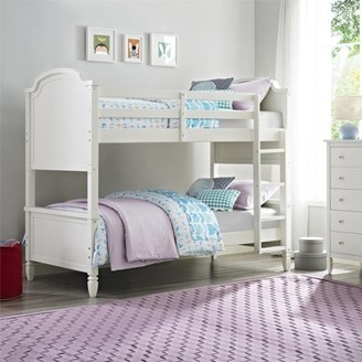 Better Homes & Gardens Better Homes and Gardens Lillian Twin Bunk Bed, Bedroom Furniture, White