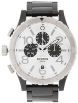 Nixon 4820 Chrono A486 Chronograph Watch Black/silver