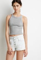 Forever 21 Button Fly Denim Shorts