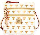 Dooney & Bourke NCAA Tennessee Triple Zip Crossbody Shoulder Bag
