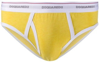 DSQUARED2 Logo-Waistband Briefs