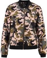 Saint Tropez Bomber Jacket carmouflage rose