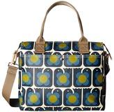 Orla Kiely Love Birds Print Zip Messenger Messenger Bags