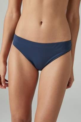 Next Womens Navy High Leg Bikini Briefs - Blue