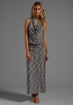 Trina Turk Space Dye Jersey Maxi Raissa Dress