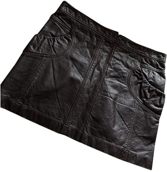 Kenzo Brown Exotic leathers Skirt for Women