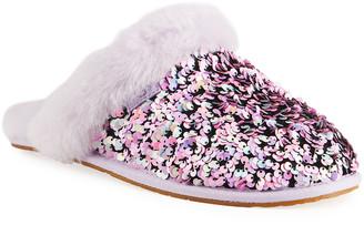 UGG Scuffette Multicolored Sequin Slippers