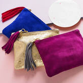 Miller and Jeeves Betsy Mini Suede Clutch