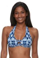 Apt. 9 Women's Bust Enhancer Push-Up Halter Bikini Top