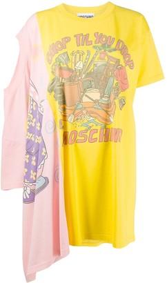 Moschino double T-shirt dress