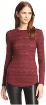 Allison Collection Women's Eyelet Lace Top