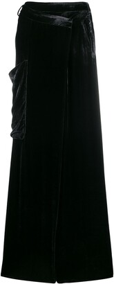 Masnada Wide-Leg Oversized Trousers