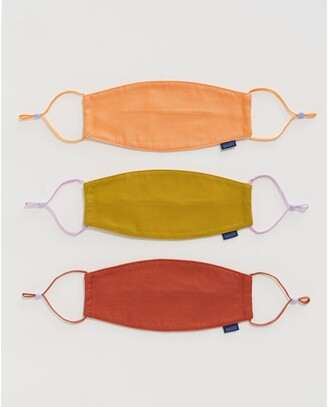 Baggu Reusable Cotton Face Masks Clay