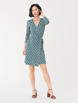 Diane von Furstenberg Julian Silk-Jersey Wrap Dress