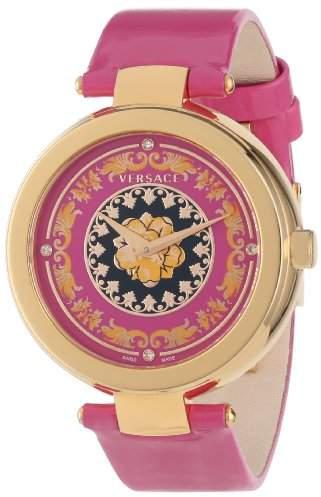Versace Women's VK6030013 Mystique Foulard 38mm Rose Gold Ion-Plated Stainless Steel Quartz Diamond Watch