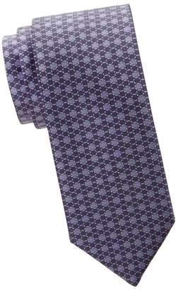 Brioni Hexagon Silk Tie
