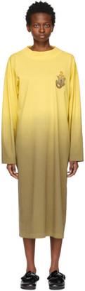 MONCLER GENIUS 1 Moncler JW Anderson Yellow Degrade Dip Dye Dress
