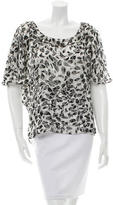 Rachel Zoe Printed Sleeveless Top w/ Tags