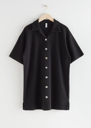 And other stories Oversized Buttoned Shirt Dress