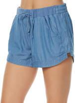 Rusty Leap Womens Short Blue