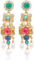 Ben-Amun Ben Amun Byzantine Pearl Multi-Stone Earrings