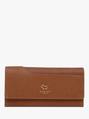 Radley Pockets Leather Large Matinee Purse, Tan