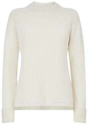 Moncler Knitted Wool-Cashmere Sweater