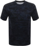 Paul & Shark Paul And Shark Crew Neck Camouflage T Shirt Navy