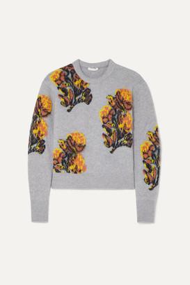 Chloé Jacquard-knit Sweater - Lilac