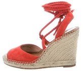 Joie Wrap-Around Espadrille Wedges