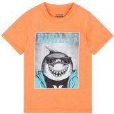 Hurley Boys 4-7 Shark Graphic Tee