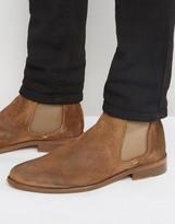 Walk London Suede Chelsea Boot