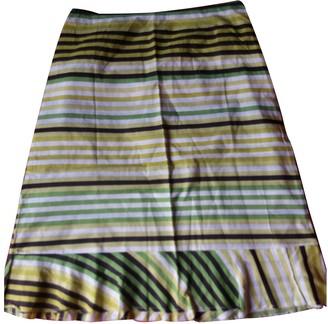 Comme des Garcons Green Cotton Skirt for Women Vintage