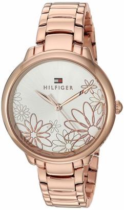 Tommy Hilfiger Women's Quartz Watch Strap