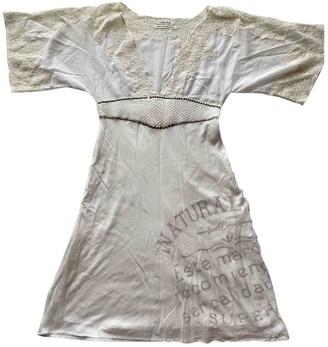 Replay White Dress for Women