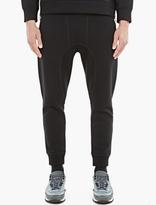 Neil Barrett Black Seam-Detail Sweatpants