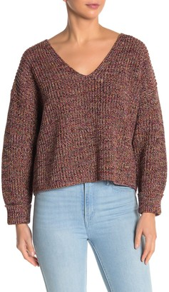 French Connection Mozart Boxy V-Neck Sweater