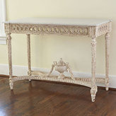 Handcarved Gustavian Console Table