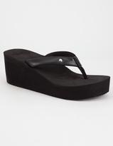 Roxy Mellie Wedge Womens Flip Flop Sandals