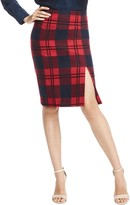 Draper James Plaid Pencil Skirt