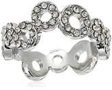 "T Tahari 5-25 Essentials"" Pave Circles Ring, Size 7"