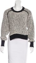 Isabel Marant Bouclé Crew Neck Sweater