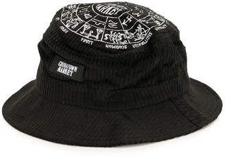 Chinatown Market Zodiac corduroy bucket hat